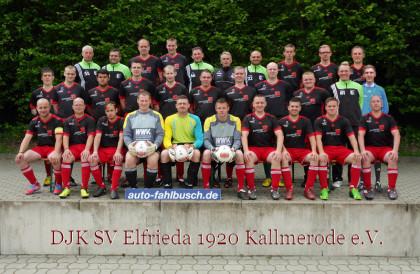 SV Elfrieda Kallmerode Fußball Sport Eichsfeld