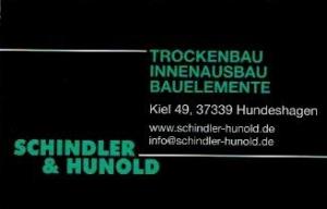 Schindler & Hunold Elfrieda Kallmerode Sport Fußball Eichsfeld