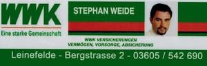 Versicherungsbüro Stephan Weide SV Elfrieda Kallmerode Fußball